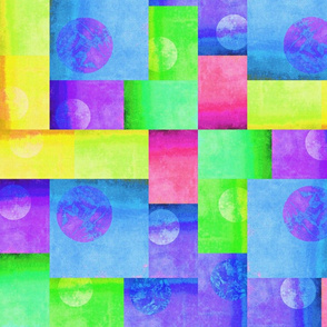 Blocks Green Blue Yellow