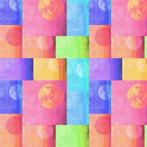 Blocks  in Pastels