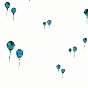 Balloons in Blue