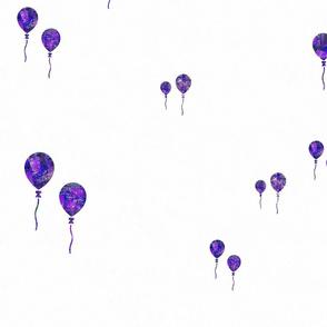 Balloons in Purple