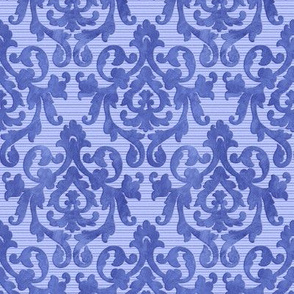 Blue Damask X-Small