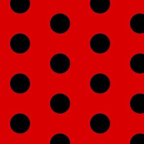 LadyBug Costume Fabric