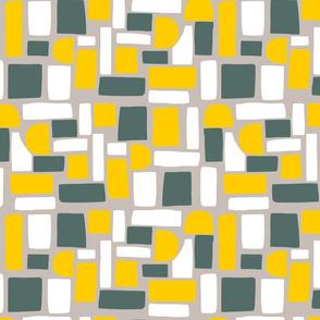Brown Paper Mosaic