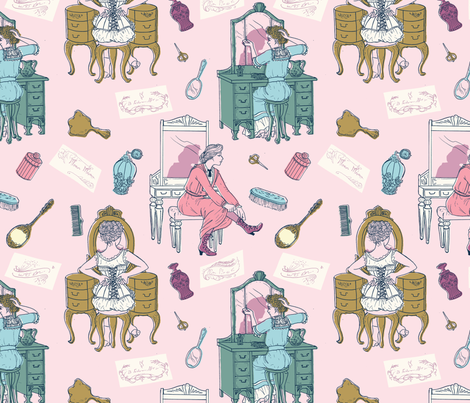 Daily Preparations fabric by annas-roses on Spoonflower - custom fabric