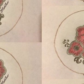 Flowers in a Circle