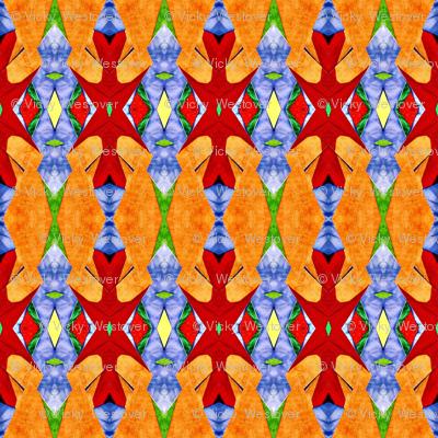 Russion Firebird Folk Art