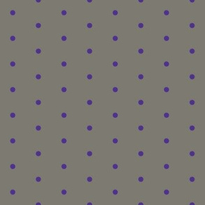 polkadot Large purple/grey