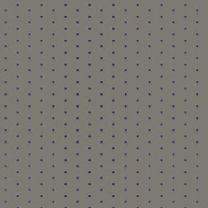 Polkadot med Purple/Grey