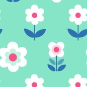 Retro_flowers_mint_and_pink_150_hazel_fisher_creations_shop_thumb