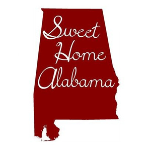 Alabama Quilt Square // Crimson