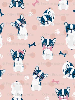Frenchie - Pink French Bulldog