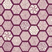 Patchwork Hexagons