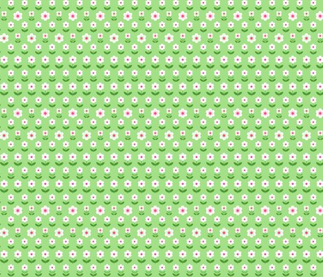 Retro_flowers_green_white_pink_150_hazel_fisher_creations_shop_preview