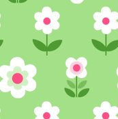 Retro_flowers_green_white_pink_150_hazel_fisher_creations_shop_thumb
