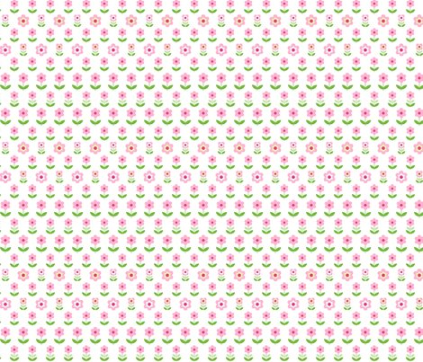 Retro_flowers_white_pink_green_150_hazel_fisher_creations_shop_preview