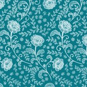 Rlace_pattern_white_on_teal_150_hazel_fisher_creations_shop_thumb