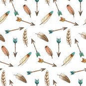 Rsouthwest_feathers_and_arrows_smaller_150_hazel_fisher_creations_shop_thumb