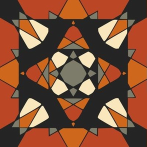 Tribal mosaic