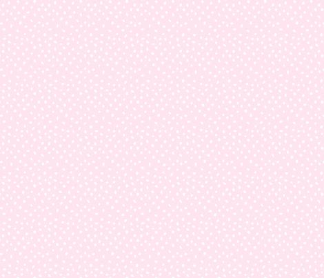 Hand Drawn Spotty - pastel blush pink fabric by hazelfishercreations on Spoonflower - custom fabric