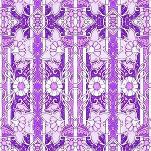 Purple Stripe With a Twist