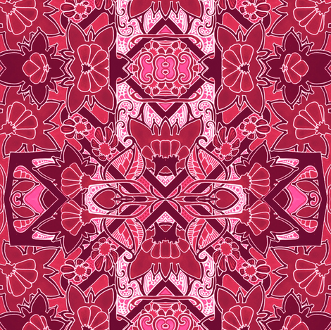 Seeing Red fabric by edsel2084 on Spoonflower - custom fabric