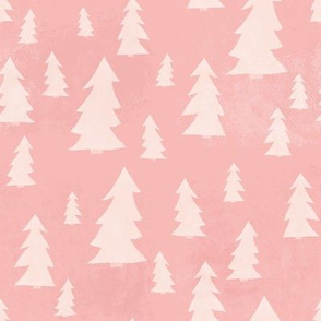 Pink and White Forest