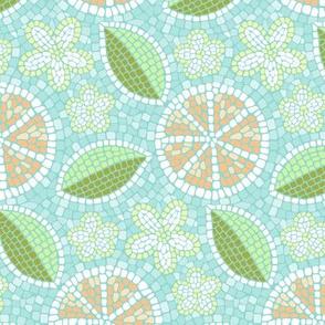 Summer Oranges Mosaic_50% size