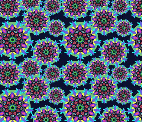 Mandalas fabric by mnlva on Spoonflower - custom fabric