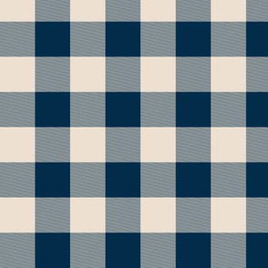 "1"" Buffalo Plaid- baby blue and white-ch-ch"