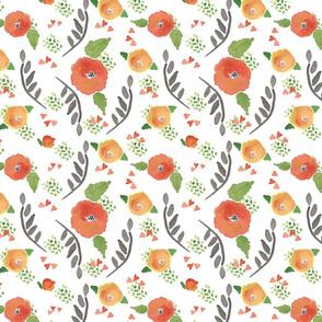 Coordinate_for_orange_flowers_spoonflower_1