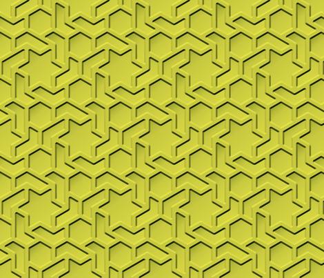 hexageo fabric by hannafate on Spoonflower - custom fabric