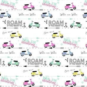 Roam- White