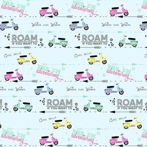 Roam- Blue