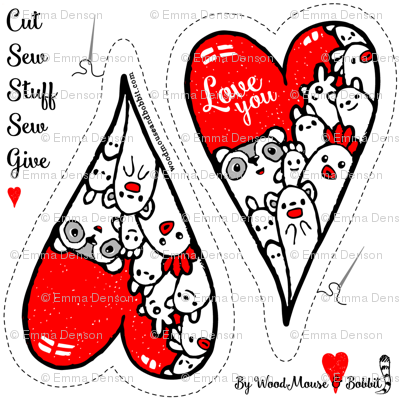 Cut Out & Give Heart 1