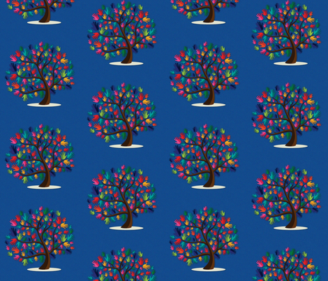 Helping Hands fabric by comfycozy on Spoonflower - custom fabric