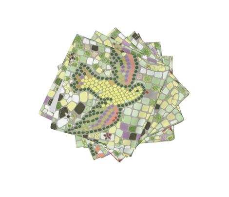 tranquility bird mosaic