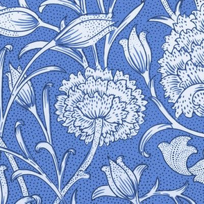 William Morris ~ Wild Tulip ~ Retreat Blue and White