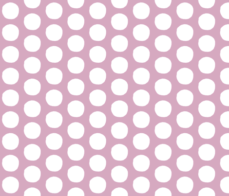Large Dots fabric by annas-roses on Spoonflower - custom fabric