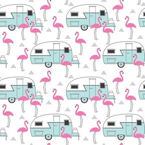 small trailers-and-flamingos-on-white
