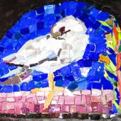 Little Dove Mosaic