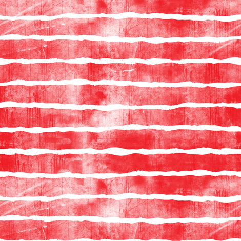 distressed red stripes fabric by littlearrowdesign on Spoonflower - custom fabric