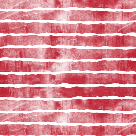 distressed dark red stripes fabric by littlearrowdesign on Spoonflower - custom fabric