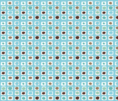 Tidy little rectangles fabric by colorofmagic on Spoonflower - custom fabric
