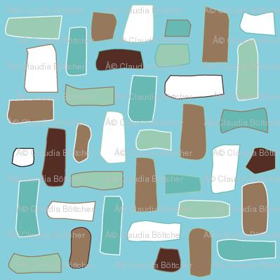 Scattered little rectangles