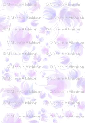 Floral Fantasy Jumbo Scale (Lavender)