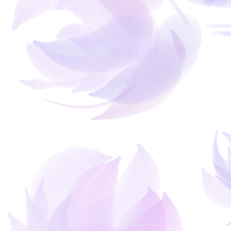 Floral Fantasy Jumbo Scale (Lavender) fabric by michelleaitchison on Spoonflower - custom fabric
