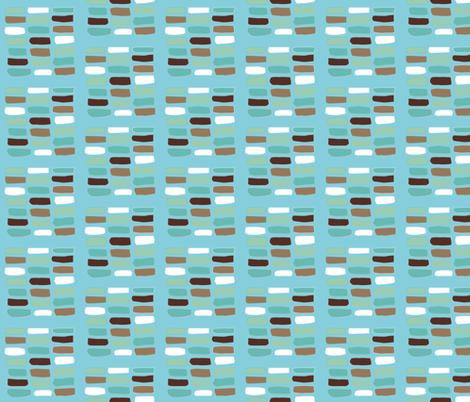 Tidy little fish sticks fabric by colorofmagic on Spoonflower - custom fabric