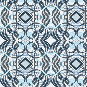 abstract_arabic_caligraphy__square_grey_white_and_blue_layered