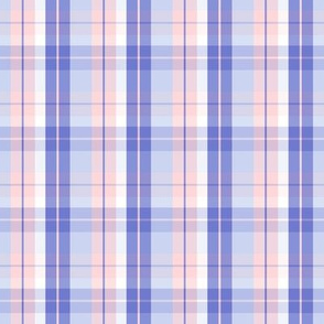 pink purple plaid four