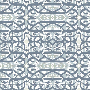 abstract_arabic_caligraphy__4_blue_grey_and_cream_layered